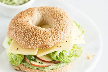 Bagel «Crazy Day» au Tilsit